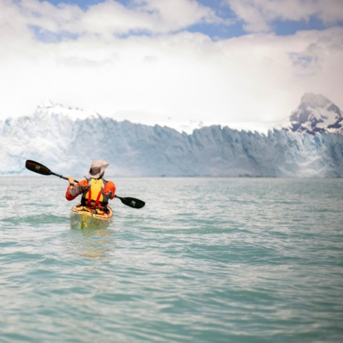 Kayak Perito Moreno