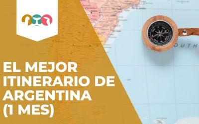 El mejor itinerario de Argentina (1 MES)